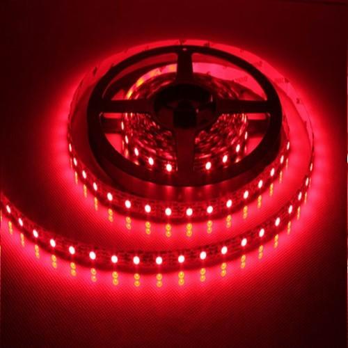 ΕΥΚΑΜΠΤΗ ΑΔΙΑΒΡΟΧΗ ΤΑΙΝΙΑ ΜΕ ΚΟΚΚΙΝΑ LED 12V 14,4W/m (ΤΙΜΗ ΜΕΤΡ)