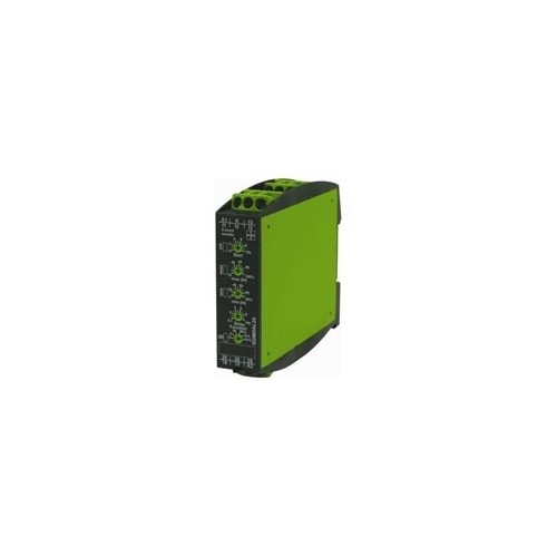 DIN RAIL CURRENT MONITORING RELAY 6 FUNCTIONS 2C/O