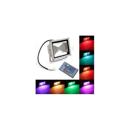 FLOODLIGHT RGB 20w ΦΩΤΟΡΥΘΜΙΚΑ