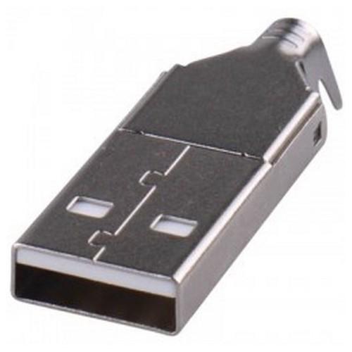 USB A CONNECTOR ΑΡΣΕΝΙΚΟ ΚΑΛΩΔΙΟΥ 4 PIN