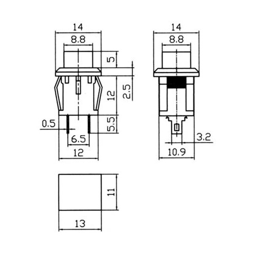 Elevator Push Button Switch High Quality Switch