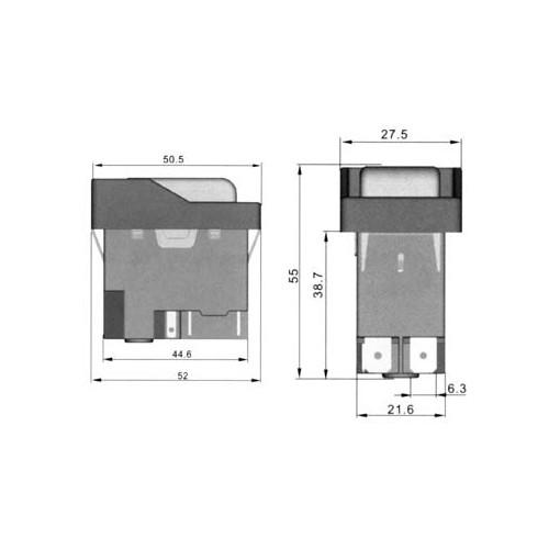 KJD16-2 (1+1) ΔΙΑΚΟΠΤΕΣ