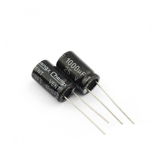 Electrolytic capacitor 105