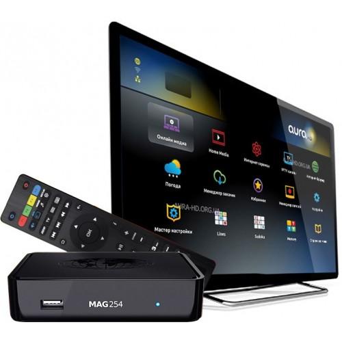 Infomir MAG254 BOX IPTV - android