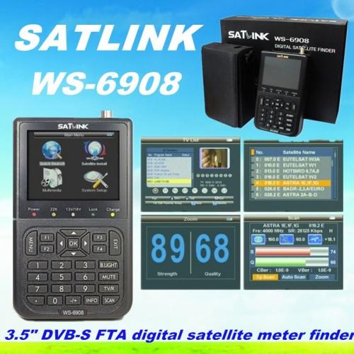 SATLINK WS 6908 ΔΟΡΥΦΟΡΙΚΑ