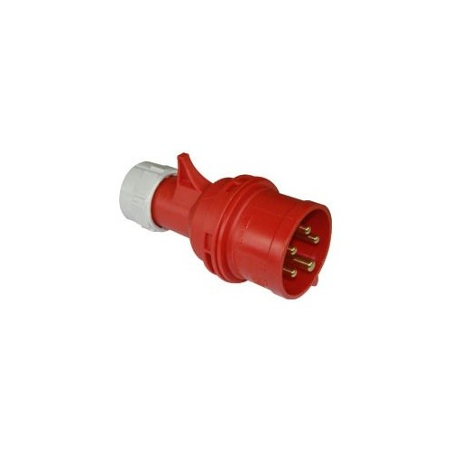 PCE 32a 415v 3ph Male Ceeform Plug Ip44 Rated
