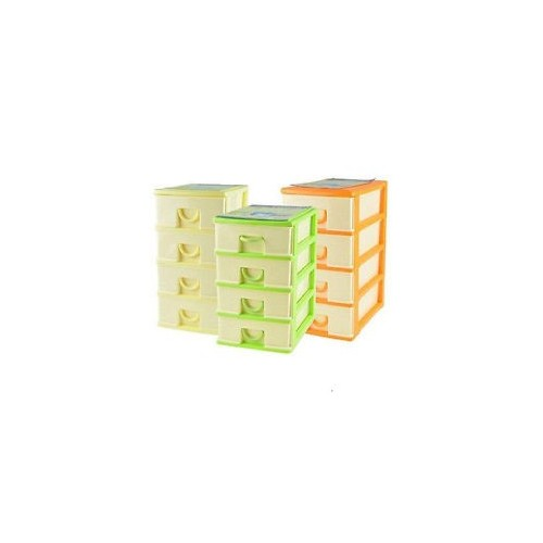 Mediawave Store Mini Cassettiera 5 Piani
