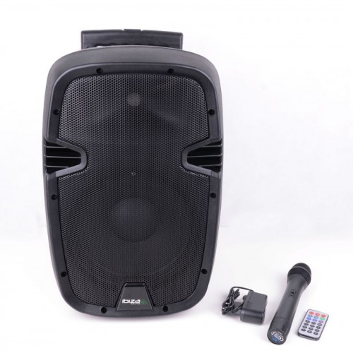 Ibiza Sound HYBRID10VHF-BT Portable Stand Alone PA System