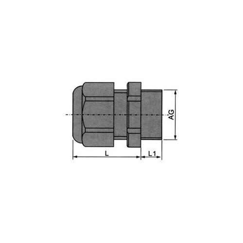 ΣΤΥΠΙΟΘΛΙΠΤΕΣ ΜΕΤΑΛΙΚΟΙ 3-6.5mm ΤΡΥΠΑ IP68