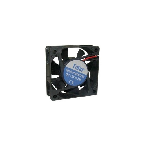 Case fan 60x60x20 mm 12V
