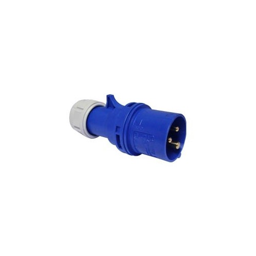 MALE INDUSTRIAL PLUG 3P 16A 013-6 IP44