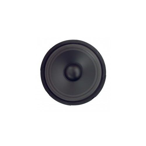 "High-cut Wave Paper Cone Series Woofer Megaphone with Black Foam Edge 8\"", 8Ω, 180W."