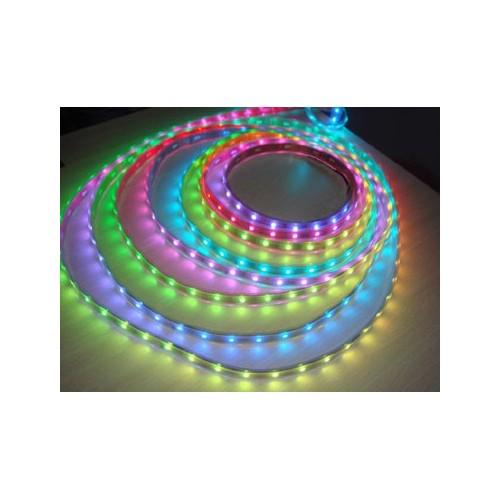 ΕΥΚΑΜΠΤΗ ΑΔΙΑΒΡΟΧΗ ΤΑΙΝΙΑ ΜΕ RGB LED 12V 14,4W/m (ΤΙΜΗ ΜΕΤΡΟΥ)