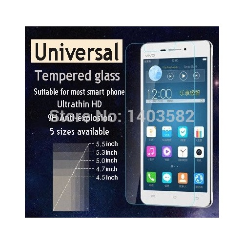 """ΠΡΟΣΤΑΤΕΥΤΙΚΗ ΜΕΜΒΡΑΝΗ Universal 5"""" - Tempered Glass"""