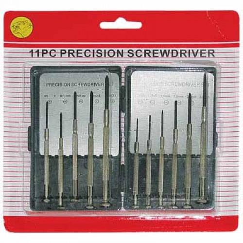 11PCS Mini Precision Screwdriver Set, Small Screwdriver Set for Electronics, Toys, Computer, Watch Repair