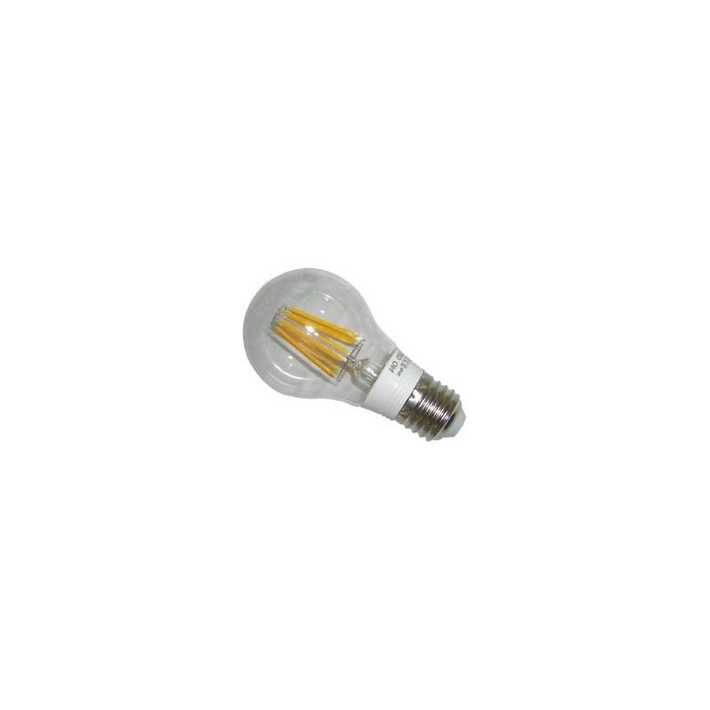 ΛΑΜΠΤΗΡΑΣ LED FILAMENT DIMMABLE 8W E27 - Α60