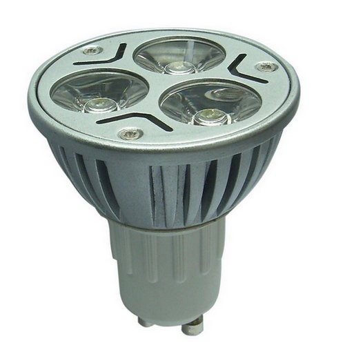 LED LAMP 3X1W GU10 COOL WHITE 240 LUMEN