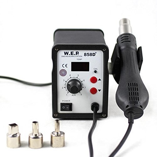ESD Soldering Station LED Digital desoldering station