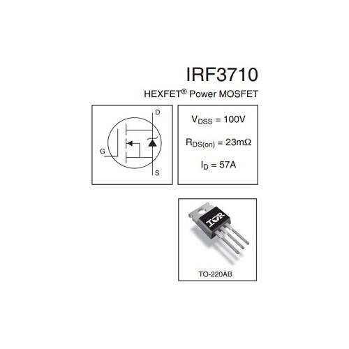 ΤΡΑΝΖΙΣΤΟΡ IRF3710