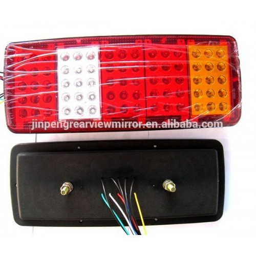 24V LED 4 CHAMBER REAR TAIL LIGHTS FOR TRUCK 34 x 14 CM