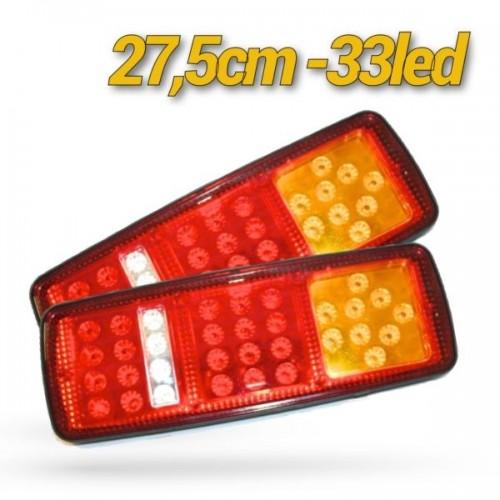 33 LED LIGHTS TRUCK ΦΑΝΑΡΙΑ