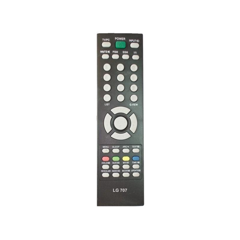 LG707 TV CONTROL LG LCD UNIVERSAL