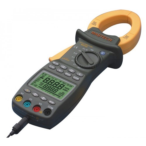 Three Phase Digital Power Clamp Meter MS2203