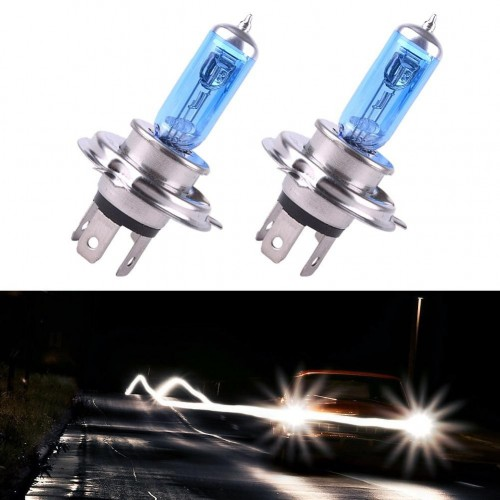 XENON GAS FILLED H4 LED BULBS
