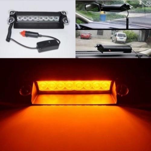 2X8 LED 3 Mode Strobe Flash Warning Light External Car