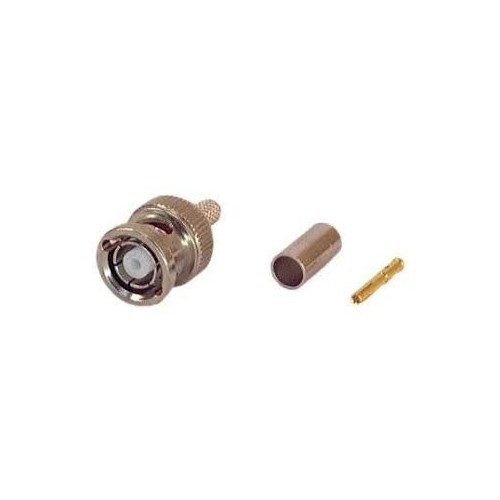 BNC CONNECTOR MALE REVERSE POLARITY RG58 ΠΡΕΣΑΡΙΣΤΟ