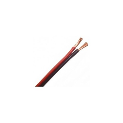 SPEAKER CABLE 2X2.00mm red black