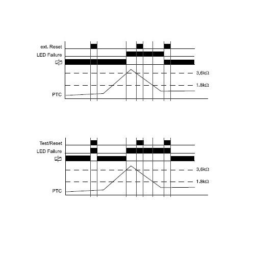 TEMPERATURE MONITORING RELAY E3TF01 TLH
