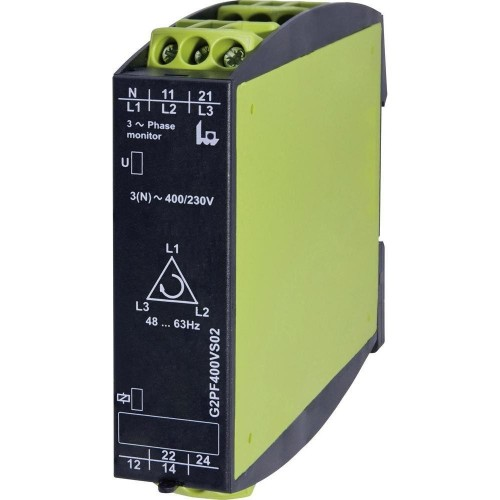 NETWORK MONITORING RELAY 3-PHASE (SEQUENCE + FAILURE)