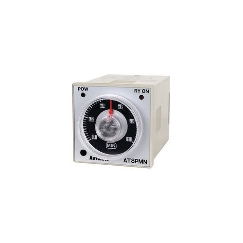 PANEL TIMER RELAY 8P DELAY OFF 2C/O 48X48 230VAC
