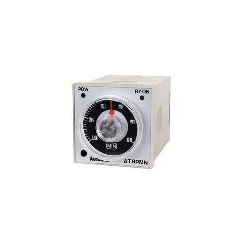 PANEL TIMER RELAY 8P DELAY OFF 2C/O 48X48 110VAC AT8PMN-6 AUTONICS