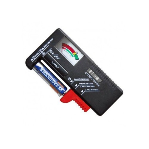 Universal Battery Tester ΑΑ ΑΑΑ C D 9V ΚΑΙ ΚΟΥΜΠΙΩΝ