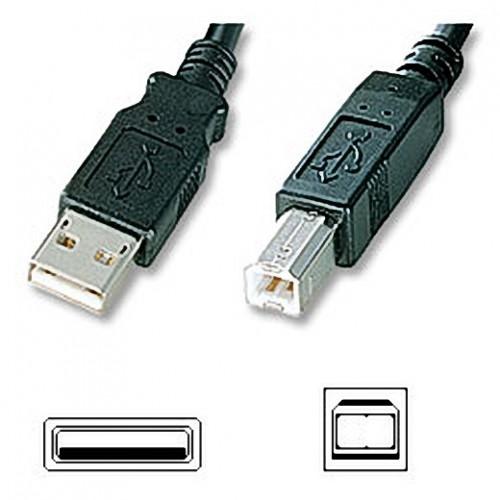 ΑΠΛΟ ΚΑΛΩΔΙΟ USB2 A-B ΑΡΣ. - ΑΡΣ. 3 MΕΤΡΑ