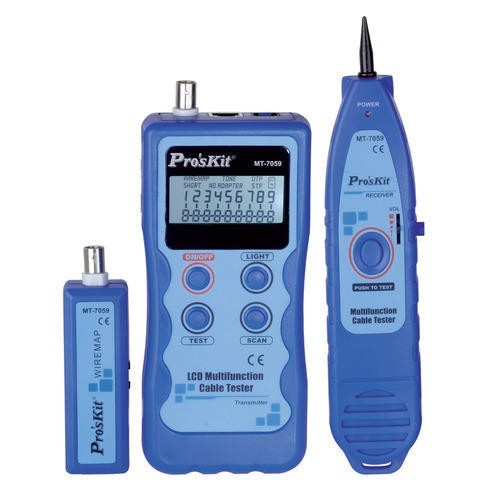 LCD MULTIFUNCTION CABLE TESTER MT-7059 S/PRO