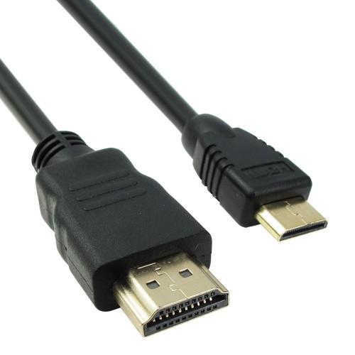 ΚΑΛΩΔΙΟ HDMI V1.4 ΑΡΣΕΝΙΚΟ ΣΕ MINI HDMI ΑΡΣΕΝΙΚΟ 1.5M