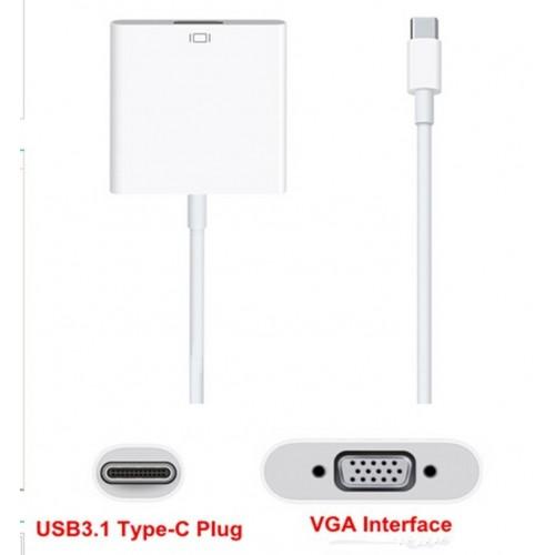 ΜΕΤΑΤΡΟΠΕΑΣ ΑΠΟ USB - C ΣΕ VGA