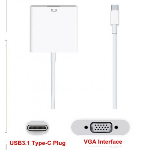 C to VGA Adaptor