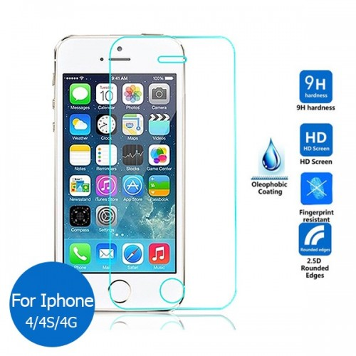 IPHONE 4/4S TEMPERED GLASS