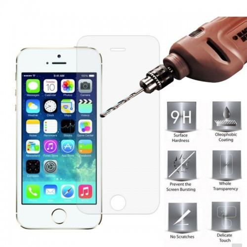 ΠΡΟΣΤΑΤΕΥΤΙΚΗ ΜΕΜΒΡΑΝΗ IPHONE 5/5S TEMPERED GLASS 9Η
