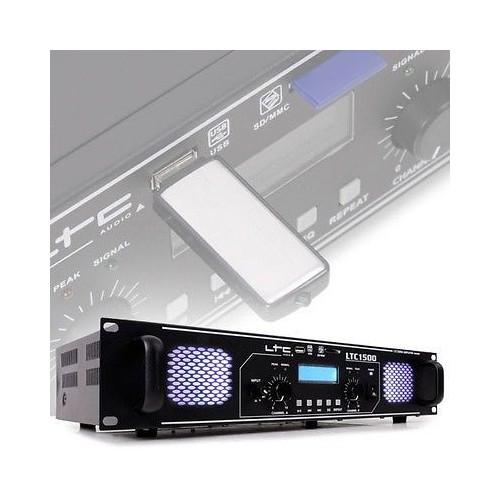 ΤΕΛΙΚΟΣ ΕΝΙΣΧΥΤΗΣ 2 x 750W 4Ω ΜΕ USB/SD/MMC-MP3