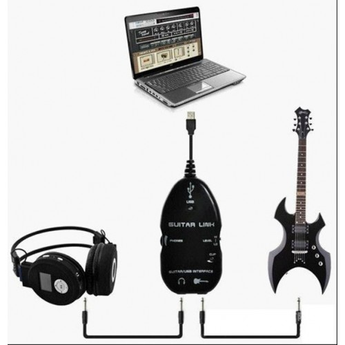 USB GUITAR LINK CABLE ΜΙΚΤΕΣ