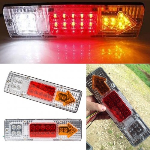 Led Truck Tail Light Rear Lights Trailer