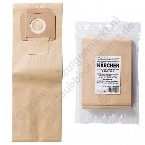 NT35, NT361, NT611 Vacuum Cleaner Bags for Kärcher