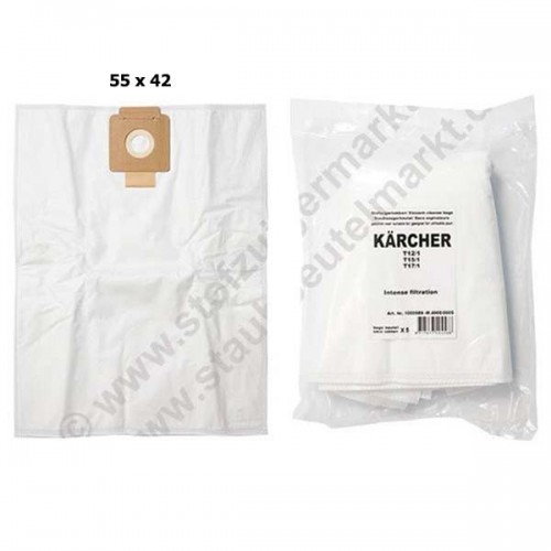 Vacuum Cleaner Filter Bags Dust Bag Replacement for Karcher T12/1 T10/1 T7/1 T9/1 T9/1 Bp