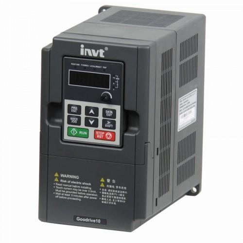 GD10 3PHASE 1.5KW INVERTER 1.5KW ΙΣΧΥΟΣ 3Φ 400V GD10 INVT