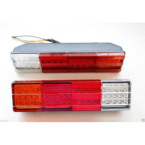 LED Rear Tail Lights Lamps Truck Trailer Tipper Chassis Motorhome Camper